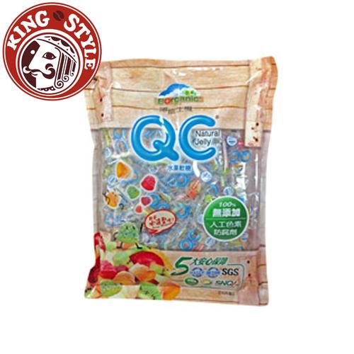 【博能生機】QC水果軟糖 Natural Vit C Jelly(水滴型/輕巧包) 260g/包