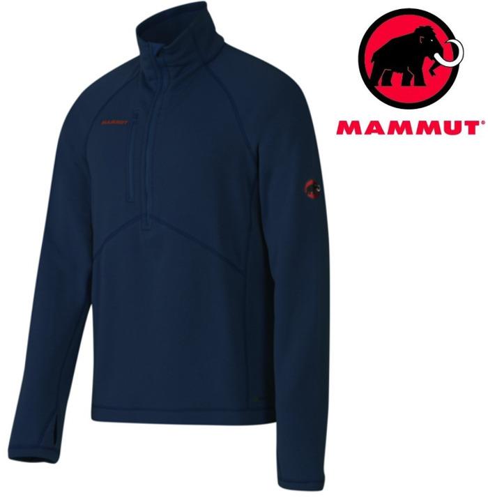 Mammut 長毛象 彈性刷毛保暖衣/保暖中層衣Aconcagua Power Stretch 1040-01280-5118海洋藍