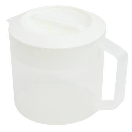冷水壺 中 2.5L 白色 KN-067