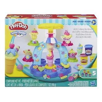 《★ 美國PLAY DOH》聖代冰淇淋遊戲組黏土 美國代購 平行輸入 溫媽媽