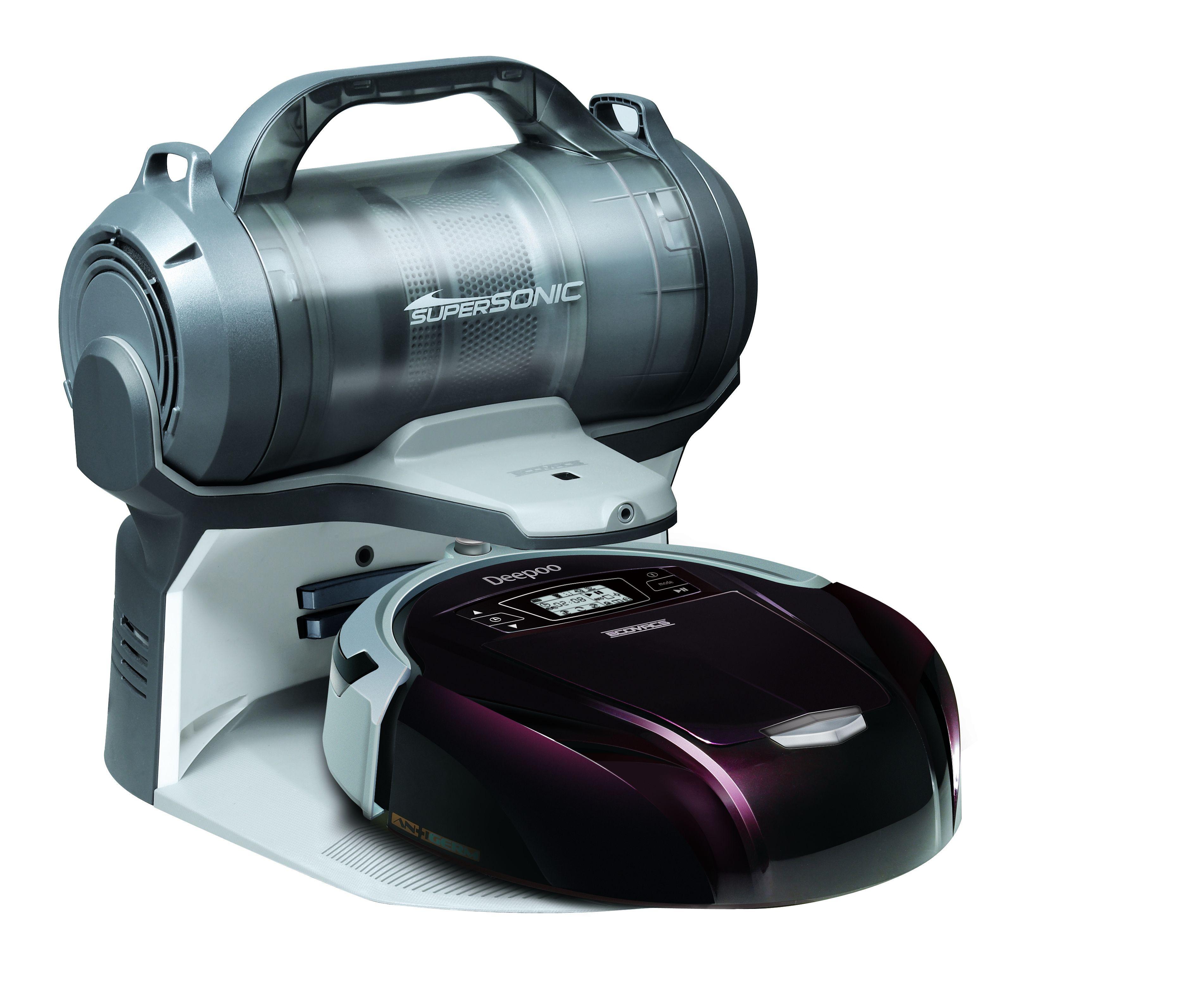 Ecovacs智慧吸塵機器人 掃地機器人-D76(福利品)
