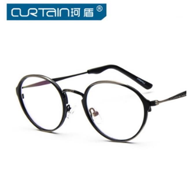 50%OFF【J011447Gls】復古花紋金屬眼鏡框9722時尚潮人框架鏡可配近視平光鏡眼鏡架附眼鏡盒