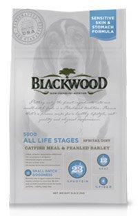 WDJ推薦 Blackwood 柏萊富天然寵糧 功能性全齡 滋補養生配方(鯰魚+珍珠麥) 15LB/15磅