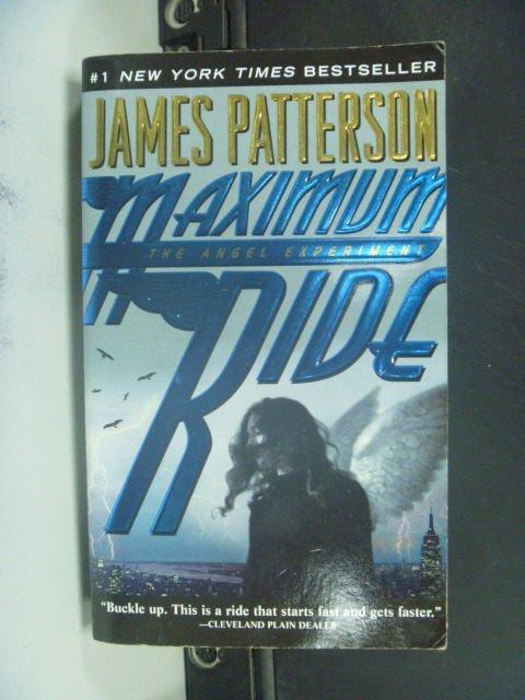 【書寶二手書T8/原文小說_JIB】Maximum Ride: The Angel Experiment