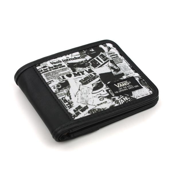 VANS 皮革 短夾 內有5卡片夾層 黑 潮流 noB12