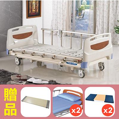 【耀宏】三馬達高級護理床電動病床YH302,贈品:餐桌板x1,床包x2,防漏中單x2