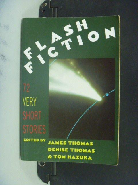 【書寶二手書T5/原文小說_MFA】Flash Fiction_Thomas, James