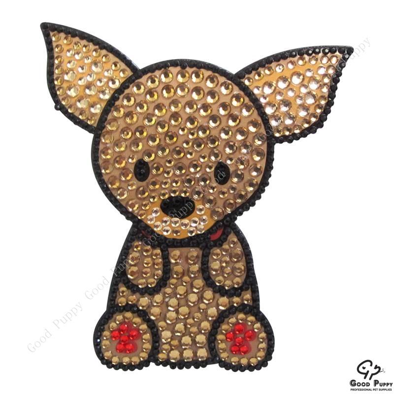 加拿大進口狗狗寵物水鑽貼紙-吉娃娃92953 Chihuahua* 手機/平板/電腦/iPad/iPhone/小禮物/贈品