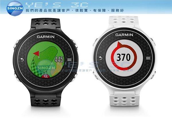 「YEs 3C」全新 現貨 Garmin Approach S6 極輕薄中文高爾夫球GPS腕錶 白/黑  免運 yes3c