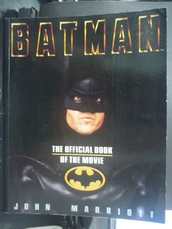 【書寶二手書T2/繪本_QIY】Batman_John Marriott
