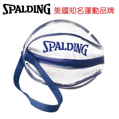 永昌文具【SPALDING】 斯伯丁 袋類系列 SPB5309N62 單顆裝籃球瓢蟲袋(藍) /個