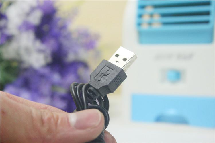 USB迷你香水無葉涼風扇(顏色隨機出貨)