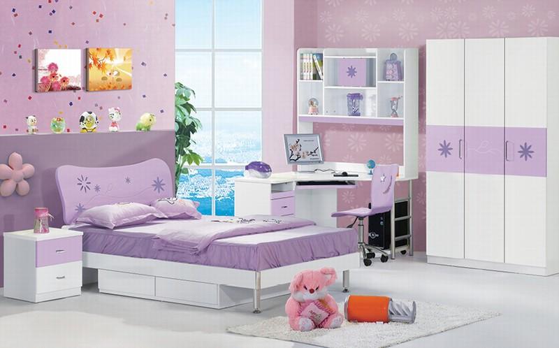 [首雅傢俬]薰衣草4尺單人房間組 單人床架 衣櫃 書桌  轉椅 床邊櫃 *預購款*