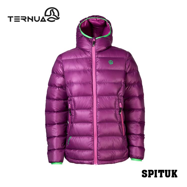 【西班牙TERNUA】女款羽絨保暖外套1642465 / 城市綠洲(鵝絨、防潑水、透氣、輕量)
