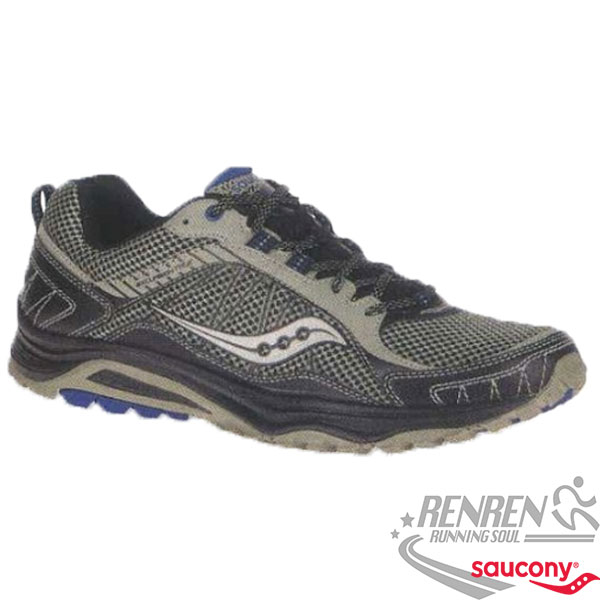 SAUCONY  EXCURSION TR9 男慢跑鞋 (灰黑) 耐磨 避震