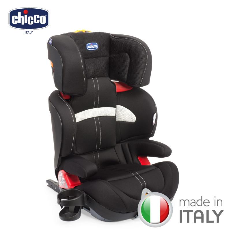 chicco-Oasys 2-3 FixPlus安全汽座-極致黑