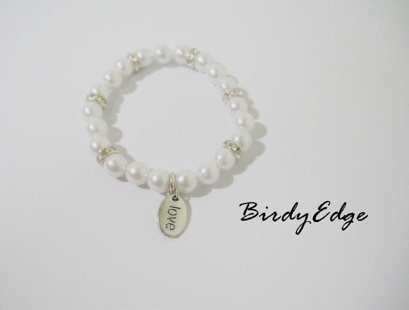 【Birdy Edge】珍珠 韓系 氣質 love