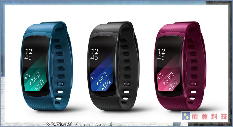 【新品上市】Samsung 三星 Gear Fit 2 SM-R360 心率 GPS 智慧手環 音樂撥放 手錶 穿戴 防水 走路 跑步 自行車 含稅開發票