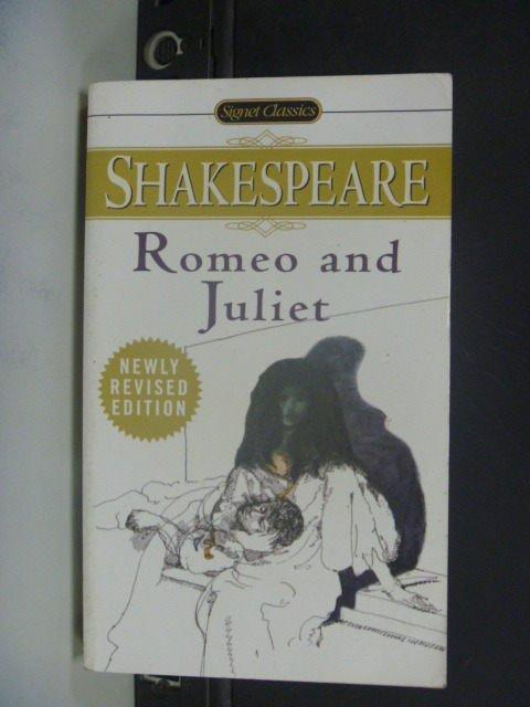 【書寶二手書T3/原文小說_JHT】 Romeo and Juliet_Shakespeare