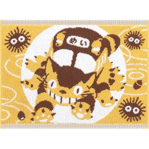【真愛日本】16070800013日本製針織彩圖防滑墊-貓公車出發    龍貓 TOTORO  地墊
