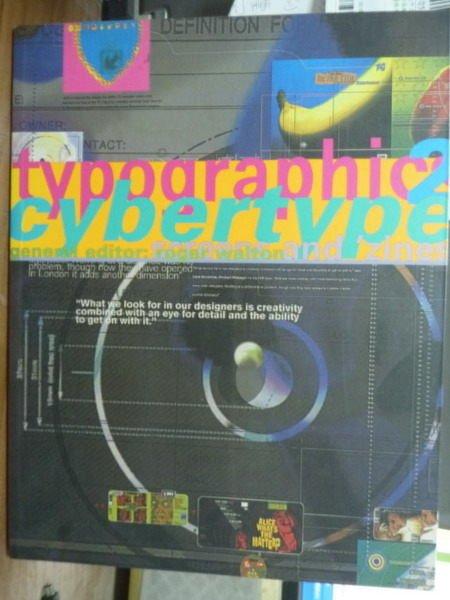 【書寶二手書T7/廣告_PCS】Typographics Cybertype 2_Roger Walton