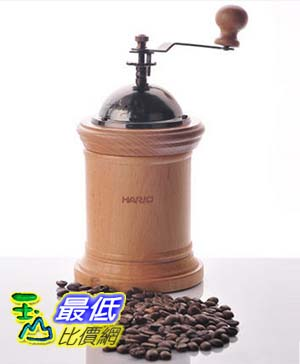 [COSCO代購 如果沒搶到鄭重道歉] Hario 木製瓶身手搖磨豆機 _W108932