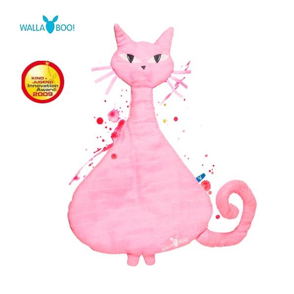 【限量出清$299】荷蘭【Wallaboo】紡紗安撫玩偶 - 貓咪