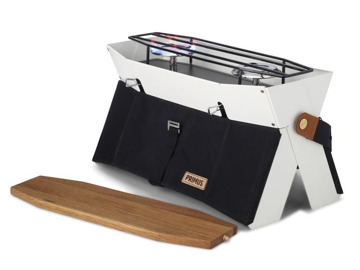 【露營趣】中和 瑞典 PRIMUS 229010 Onja 高效能時尚雙口爐 烤肉爐 雙口瓦斯爐 瓦斯雙爐 燒烤爐 露營 野餐