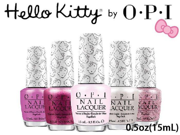 【彤彤小舖】O.P.I 指甲油 Hello Kitty by OPI系列 15ml NLH82 NLH83 NLH84