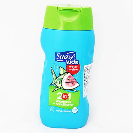 【敵富朗超巿】Suave二合一兒童洗髮精西瓜-355毫升