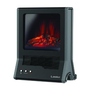 美國Lasko Star Heat火焰星 循環氣流陶瓷電暖器 CA20100TW /3D仿真動態火焰濾網式壁爐
