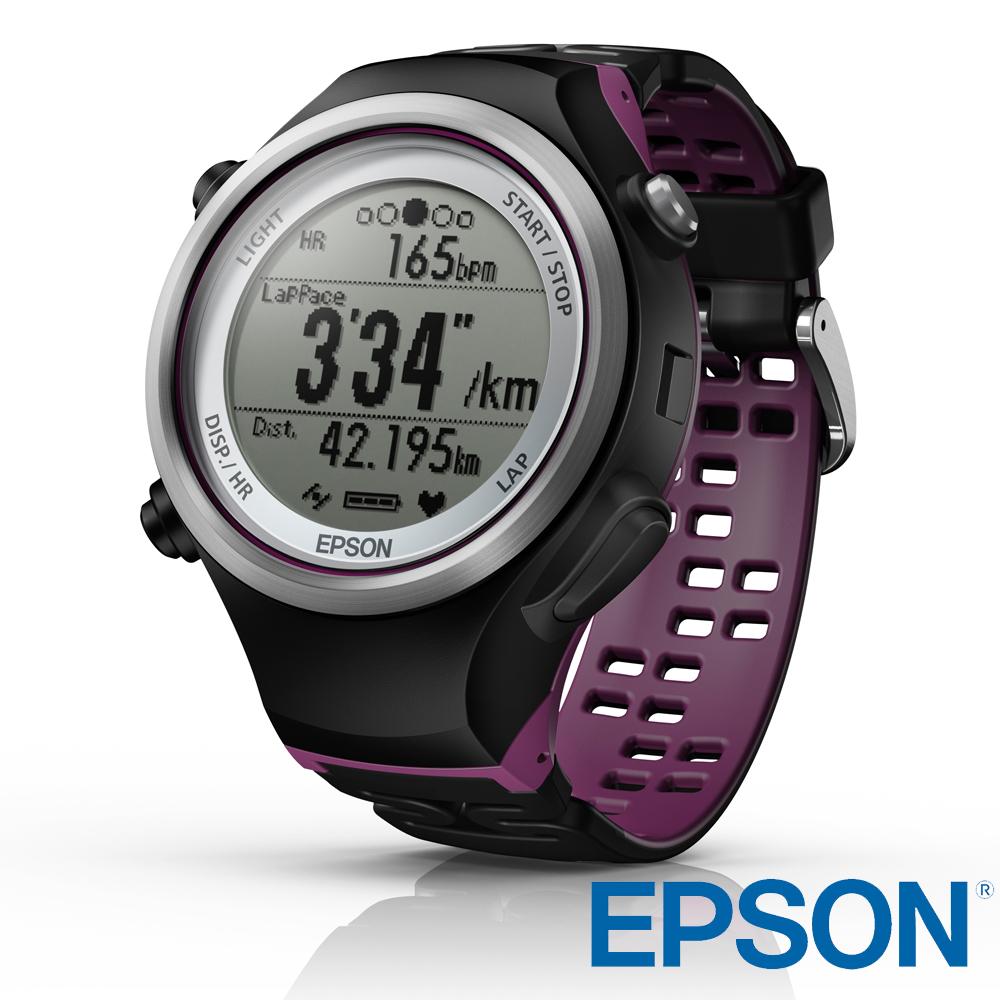 ➤心率鍛鍊【和信嘉】EPSON Runsense SF-810V SF810 運動手錶 20小時大電量 精準測量 運動感測器 (含GPS、手錶功能) 公司貨 原廠保固一年
