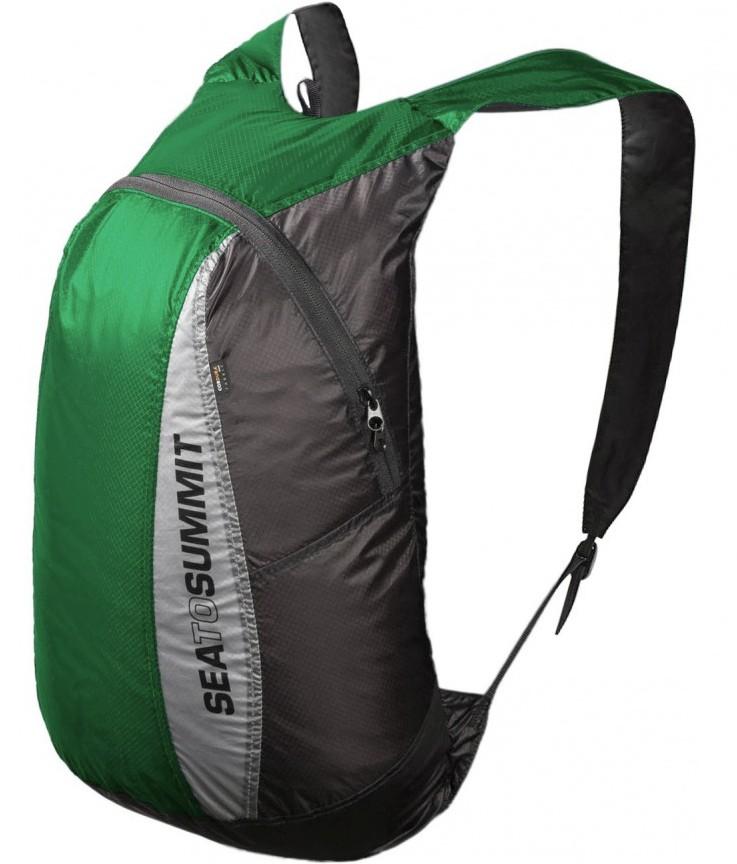 [ Sea to Summit ] Ultra-Sil Day Pack 超輕量矽膠防水日用背包/攻頂包 20升 AUDPACKGN 綠