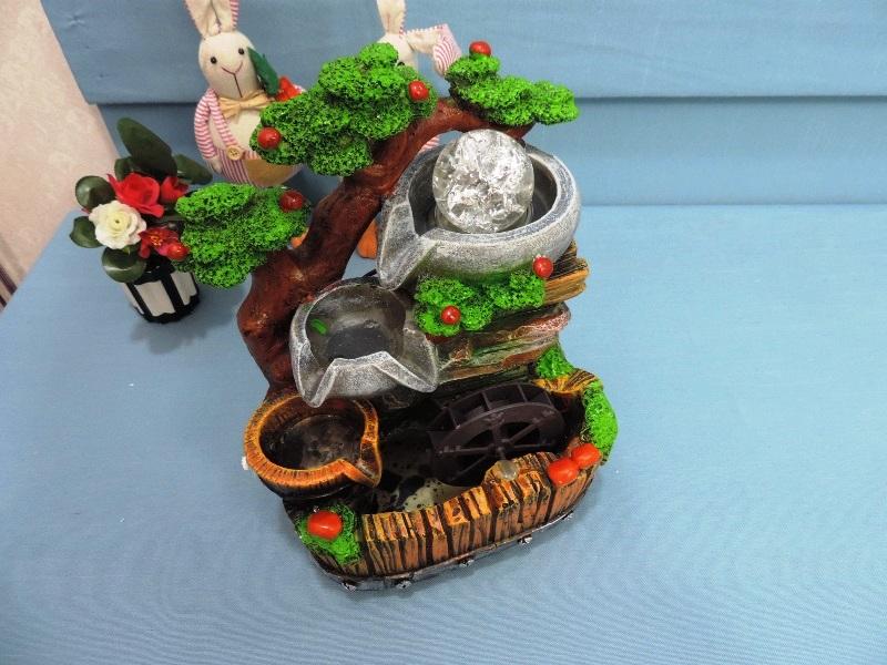◤彩虹森林◥波麗流水擺飾《6》風水球 開運擺飾 家居裝飾 店面 送禮 新居落成