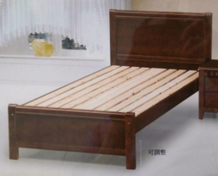 【尚品傢俱】 881-01 大津3.5尺床架,另有五尺床架/床台/單人床 Bed