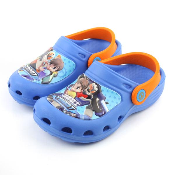 機器戰士 涼鞋 藍 中童 no553