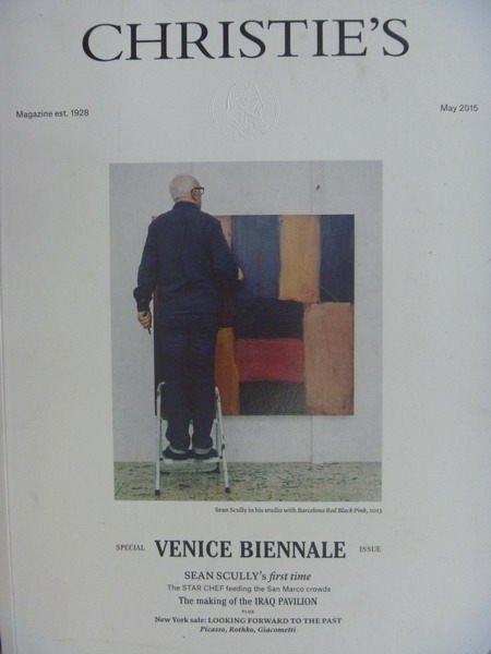 【書寶二手書T6/收藏_YBP】Christies_2015/5_Venice Biennale等