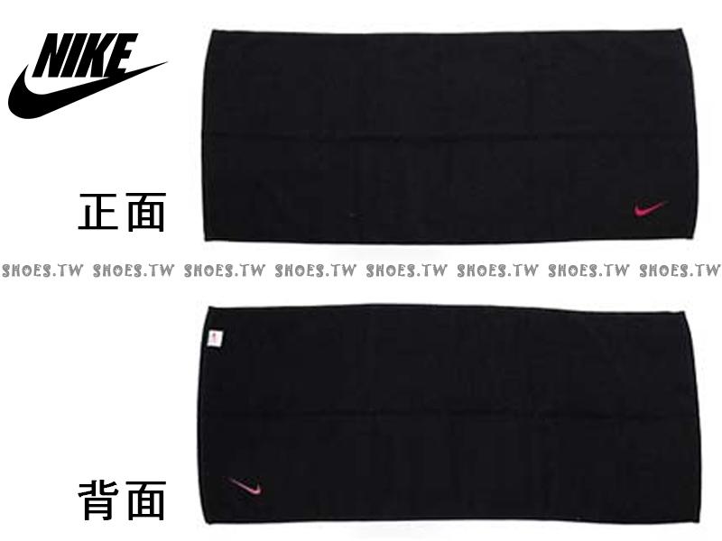 Shoestw【AC9637-091】NIKE毛巾 運動毛巾 盒裝 黑桃紅 純棉 2016新款