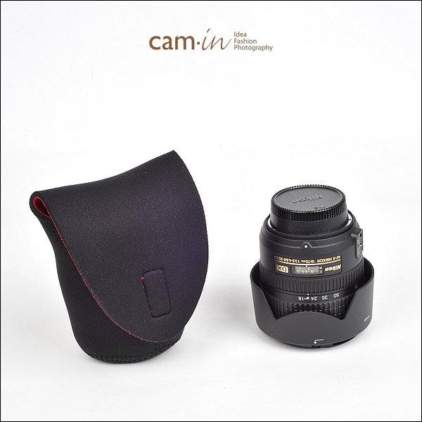 CAM-in 030 加厚彈性 相機鏡頭保護袋 鏡頭袋 60mmx65mm