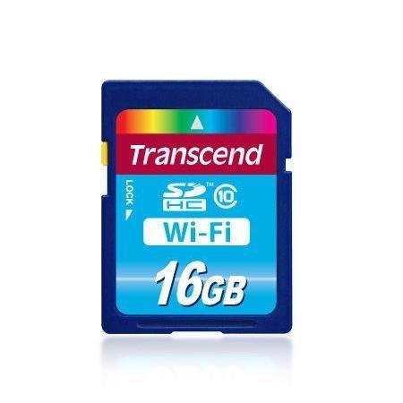 *╯新風尚潮流╭*創見16GB Wi-Fi SD記憶卡 立即無線分享照片及影片 TS16GWSDHC10
