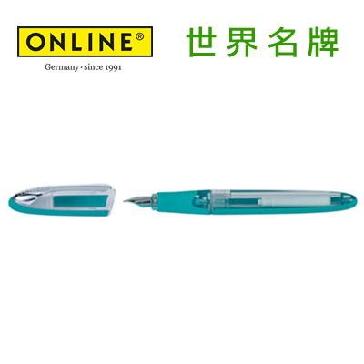 德國原裝進口 Online 五行鋼筆 20018 - 靛青F /支