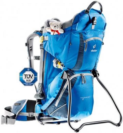 【鄉野情戶外專業】 Deuter |德國|  Kid Comfort II 登山露營旅行/嬰兒背架16L背包/行動嬰兒座椅_36514