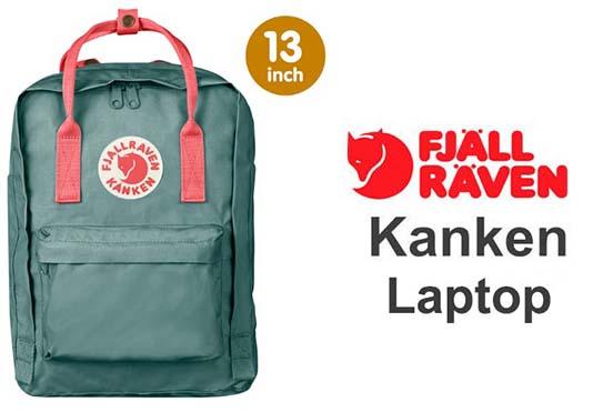 瑞典 FJALLRAVEN KANKEN laptop 13inch 664-319霜綠桃粉紅 小狐狸包