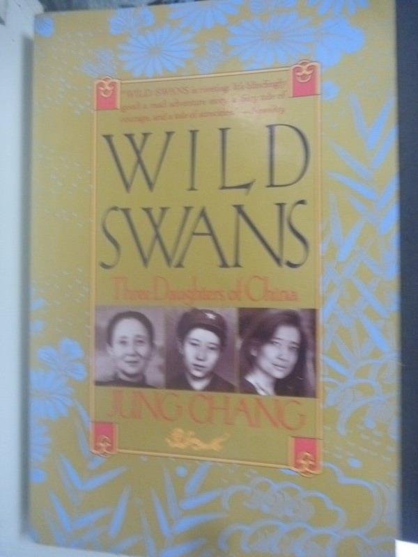 【書寶二手書T1/原文小說_YHW】Wild swans : three daughters of China