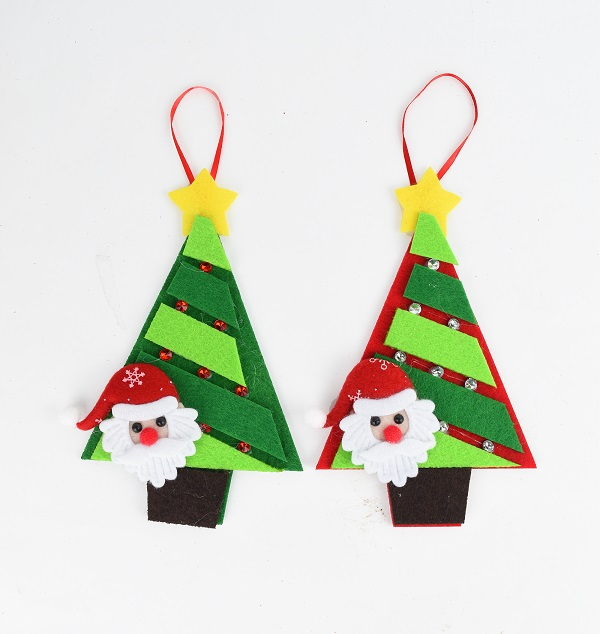 X射線【X457029】聖誕樹貼老公公吊飾(隨機出貨),聖誕節/聖誕樹/聖誕佈置/聖誕掛飾/裝飾/掛飾/會場佈置/DIY/材料包