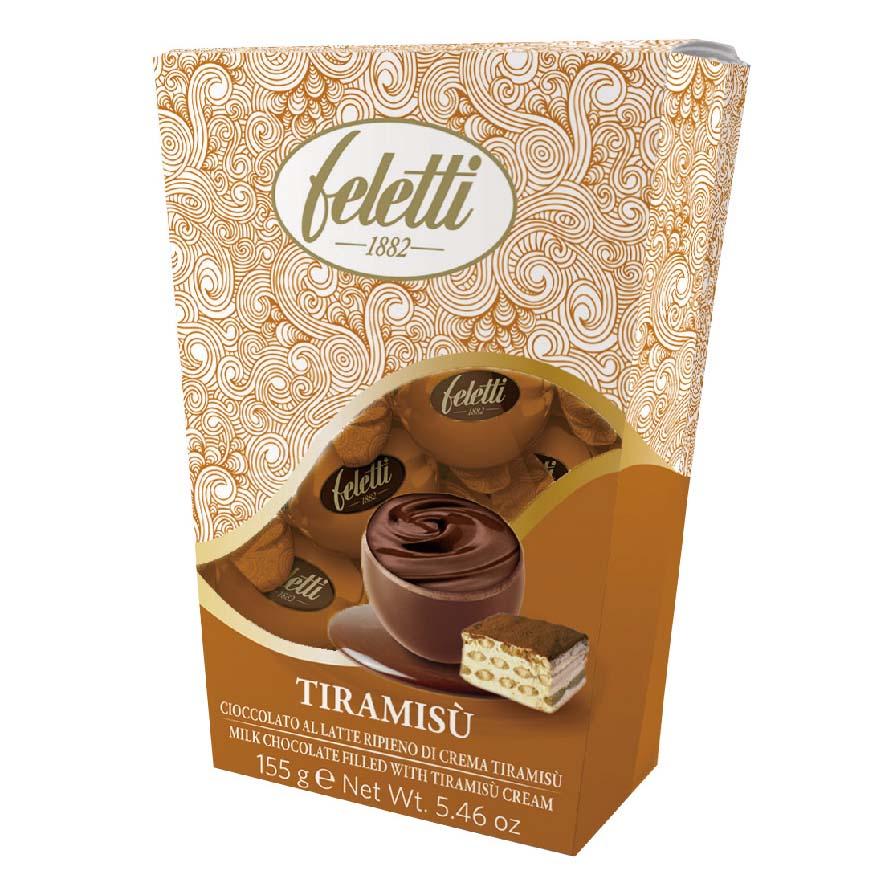【菲雷堤Feletti 1882】義大利進口巧克力★義式提拉米蘇口味巧克力★