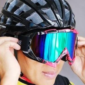 美麗大街【BK105050205】單車運動眼鏡 大鏡面太陽眼鏡 雪地鏡 護目鏡