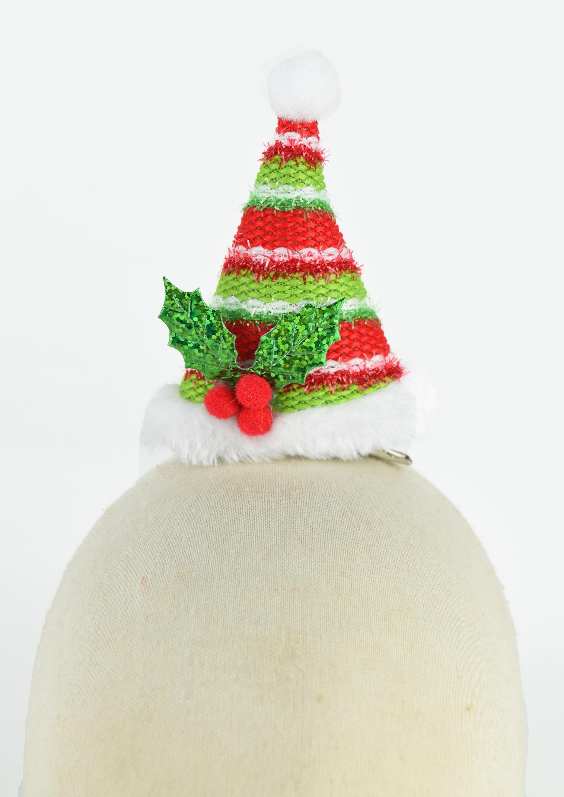 X射線【X412400】立體聖誕帽造型夾,聖誕節/派對用品/舞會道具/cosplay/角色扮演/麋鹿/表演/情趣/園遊會/校慶