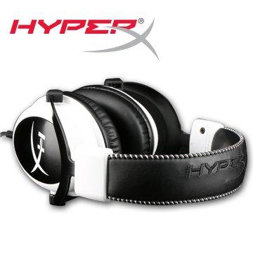 *╯新風尚潮流╭*金士頓 HyperX CLOUD 電競耳機 麥克風 白色 KHX-H3CLW