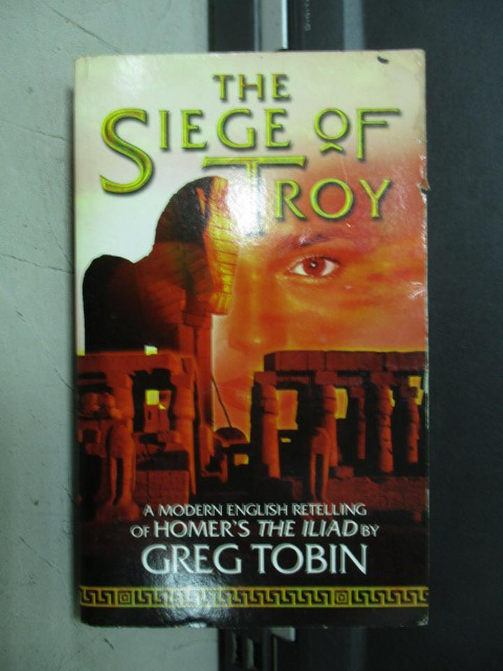 【書寶二手書T4/兒童文學_JRJ】The Siege of Troy
